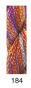 CARON- WATERLILLIES-184-SHEREREZADE--1 -6 yd skein with this listing