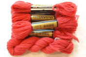 Paternayan Needlepoint 3-ply Wool Yarn-Colour -952-STRAWBERRY--2-MINI 8-YD SKEINS IN THIS LISTING