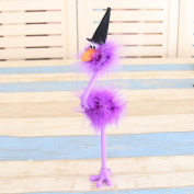 Halloween Decoration Feathers Touches Ducks Witch Style Pen Kids Kindergarten Halloween Gift Ball ,Tuscom