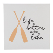 Life Is Better At The Lake - 30cm Square Wall Canvas