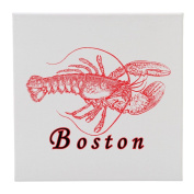 Lobster add city or town - 30cm Square Wall Canvas