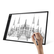 A4 Light Box, SAVFY Ultra-thin Portable USB Powered LED Artcraft Tracing Light Pad Copy Board for Artists,Drawing, Sketching, Animation