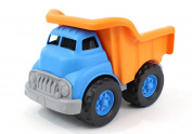 Green Toys Dump Truck Vehicle Toy, Orange/Blue, 25cm X7.13cm x 6.190cm