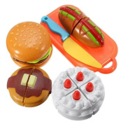 New Cutting Plastic Children Kids Cake Cut Toy Slice Baby Classic Toys Kitchen Food Pretend Play