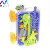 Mast Toy Garden Waggon & Tools Toy Set For Kids