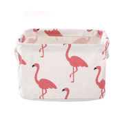 Lalang Storage Box Fabric Storage Cubes For Organise Cosmetic Toys Mini Square Storage Bins