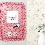 VWH Wall Decoration Switch Sticker Surround Light Switch Covers Pocket Outlet Phones Key Organiser