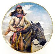 "Gregory Perillo Collectors Plate - Chieftain Series Native American Indian Plate ""CHIEF GERONIMO"" c1980 COA NIB"