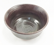Aunt Chris' Pottery - Heavy Duty - Large Brown Bowl - Hand Thrown On A Potter's Wheel - Microwave, Oven & Dishwasher Safe!