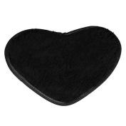 KESEE☀♥4028 CM Heart-Shaped Fluffy Rugs Anti-Slip Bath Mats Kitchen Bathroom Home Decor