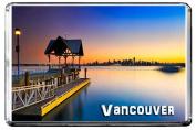 D61 VANCOUVER FRIDGE MAGNET CANADA TRAVEL PHOTO REFRIGERATOR MAGNET
