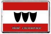 A115 TREBÍC FLAG FRIDGE MAGNET CITY OF CZECH REPUBLIC REFRIGERATOR MAGNET