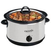 Crock-Pot 3.8l Oval Slow Cooker, Silver