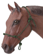 Tough 1 Tough-1 Knotted Rope & Twisted Crown Training Halter