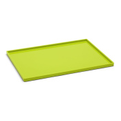 Poppin Large Slim Tray - Lime Green