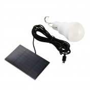 Zehui Solar LED Bulb Light White-1 Portable 15W 130lm