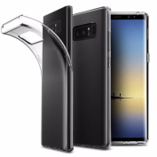 Tiean For Samsung Galaxy Note 8 Transparent Soft Gel TPU Silicone Case Cover