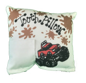 Monster Truck Tooth Fairy Pillow with Tooth Fairy Dust