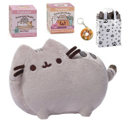 GUND Pusheen 15cm Plush, Mystery Box Series 3 & 4, Coin Purse & Bag Multi-pack