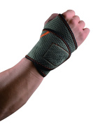 Adjustable Wrist Support - One Size - Thumb Loop Design - Neoprene Blend Material - by Utopia Fitness