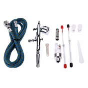 Dual Action Airbrush Air Compressor Kit spray gun for Art Painting Makeup Manicure