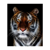 Born Beauty 5D Drilled Diamond Paint Picture DIY Cross Stitch Embroidery By Number Kits Craft Tiger
