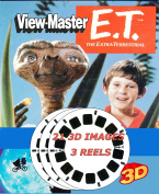 ViewMaster E.T. The Extra-Terrestrial - 3 Reel Set - 21 3D Images