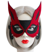 Sexy Halloween Party Mask Fox Animal Half Face Masks for Christmas Costume Masquerade Prom Ball Fancy Dress Party Favours Dress-Up Adults Children