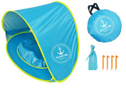 Premium Baby Beach Tent & Pop Up Sun Shelter - Easy & Simple Portable Sun Shelter Provides Shade & Baby Shade Pool For Your Toddler, Infant & Kid - Our Infant Beach Tent Offers SPF, UV, & 50+ UPF