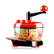 Pano Handy Manual Cup Food Chopper Processor , Vegetable Meat Fruit Slicer and Dicer