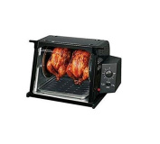 Automatically Shuts Ronco 4000 Showtime Standard Rotisserie - Black
