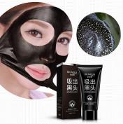 BIOAQUA Blackhead Remove Facial Masks Deep Cleansing Peel Off Black Nud Facail Face Black Mask