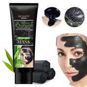 Essy Beauty Active Charcoal deep cleansing black purifying mask-Soothes the Skin's Texture 120g