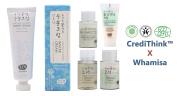 Whamisa Organic Flowers Water Cream 50ml with Super Moisture Miniature Kit | Naturally fermented | EWG Verified | BDIH Certified