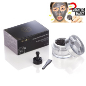 Aliver Mineral-Rich Magnetic Face Mud Mask Facial Skin Cleansing and Balanced with Magnet