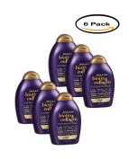 PACK OF 6 - OGX Thick & Full Biotin & Collagen Conditioner 380ml Squeeze Bottle