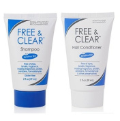 Free & Clear Shampoo and Conditioner, 60ml Travel Size