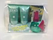 TIGI Bed Head High Tides Good Vibes Trio - Shampoo, Conditioner, Texture Spray
