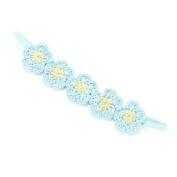 Peppercorn Kids Girls Crochet Flower Headband