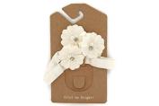 Sati Beach Summer White Flower Headband for Girls