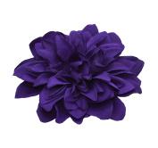 Purple Chrysanthemum on Concord Clip & Brooch Pin