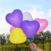 8-30cm Heart-shaped Party Balloons