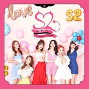 S2 - HONEYA (1st Single Album) CD+60p Photo Booklet