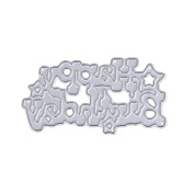 ONcemoRE Embossing Happy Birthday Metal Cutting Dies Stencils Scrapbooking Album Photo
