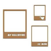 Be Mine Frames Laser Cut Chipboard - 3 piece set