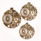 Creative Embellishments Steampunk Ornaments Laser Cut Chipboard - 3 piece set