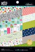 Illustrated Faith Double-Sided Paper Pad 15cm x 20cm 24/Pkg-Advent, 12 Designs/2 Each