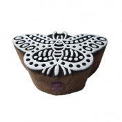 Attractive Butterfly Insect Motif Wooden Stamp for Printing
