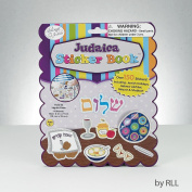 Rite Lite TY-14343 4 Pages & 150 Stickers Judaica Sticker Book - Pack of 12