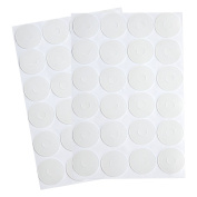 BBTO Adhesive Non-slip Grips for Quilt Templates, Semi-transparent, 2 Sheets, 96 Pieces